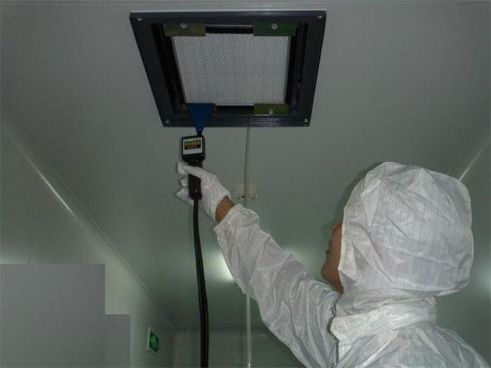 高效过滤器过滤效率与检漏方法