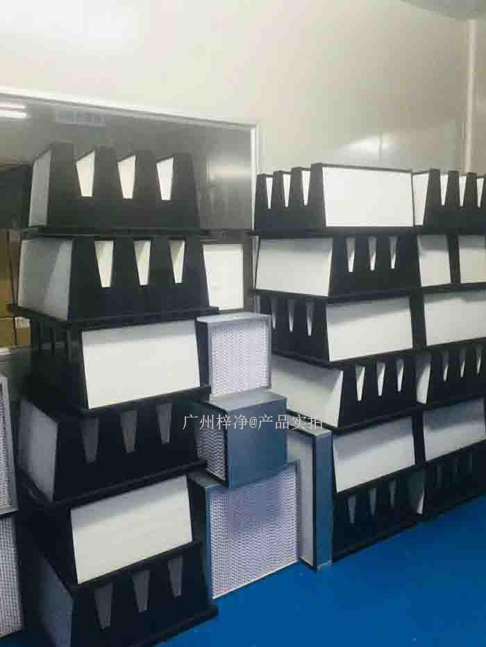 凝聚式高效过滤器的几种组成标准及设计要求