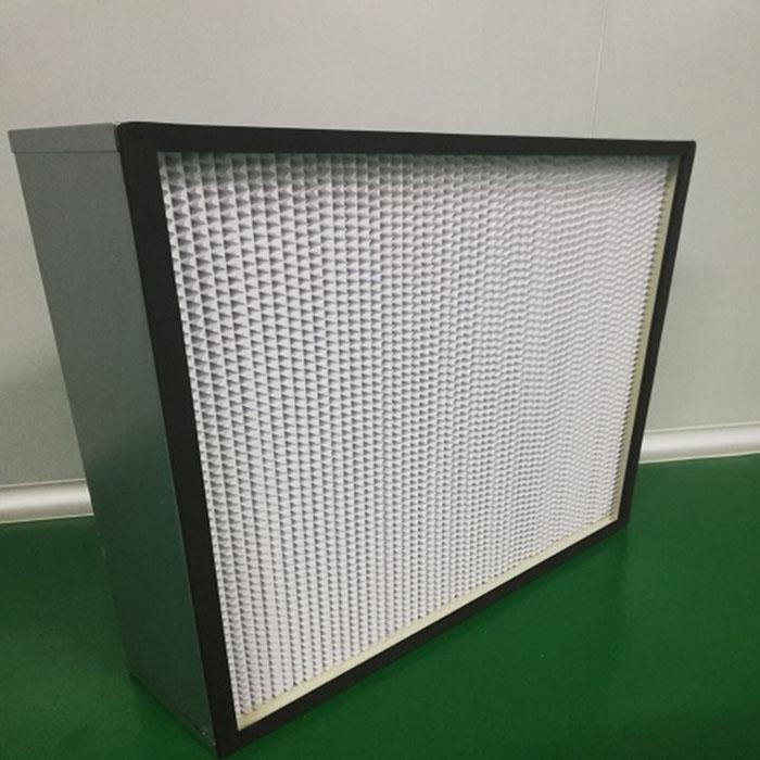 高效过滤器安装后仪器的检漏法(风速,风量)