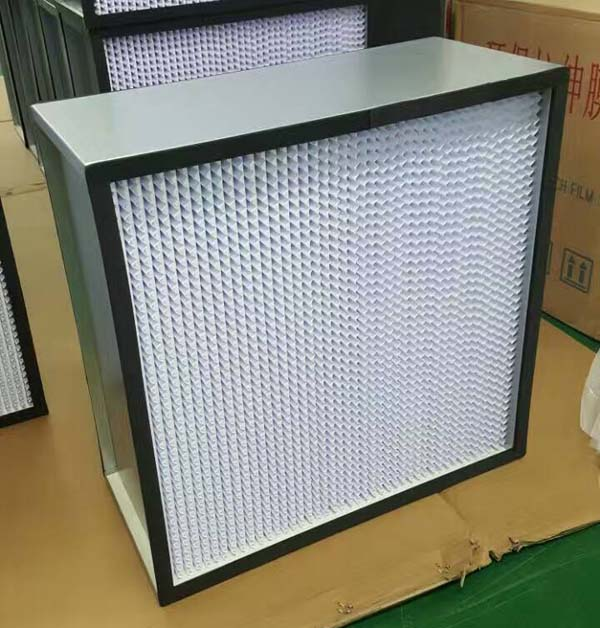 HS镀锌框有隔板高效过滤器
