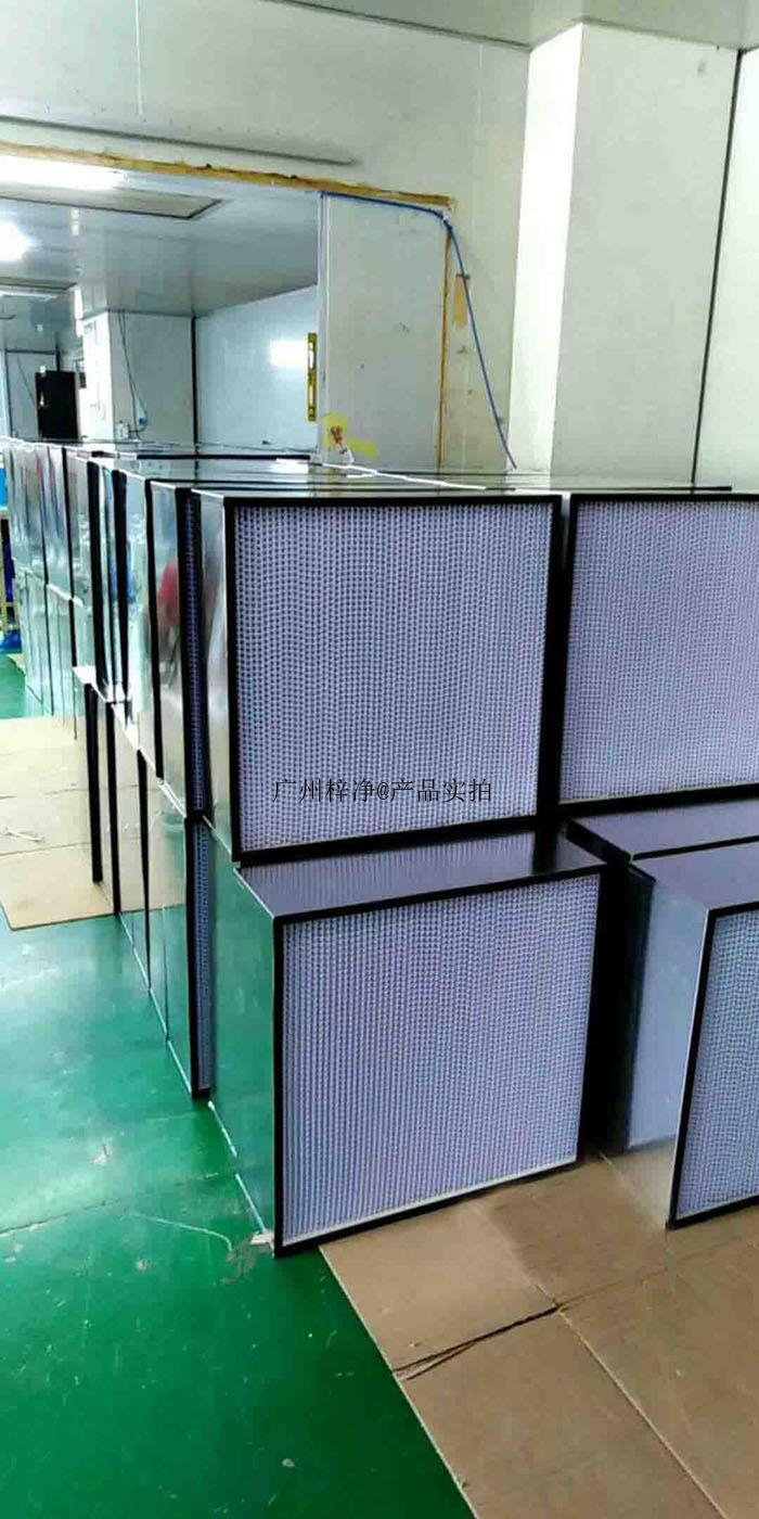 百级净化间已安装高效过滤器泄漏测试方案