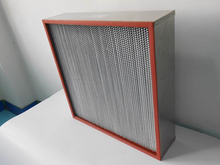 250度耐高温高效过滤器-耐260度高温高效空气过滤器