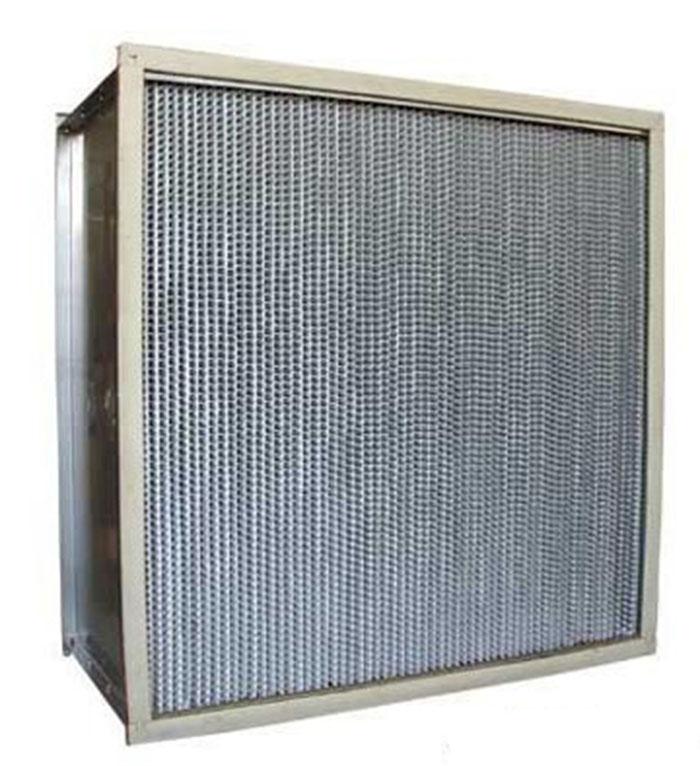 400度耐高温高效过滤器-耐350-400度高温高效空气过滤器