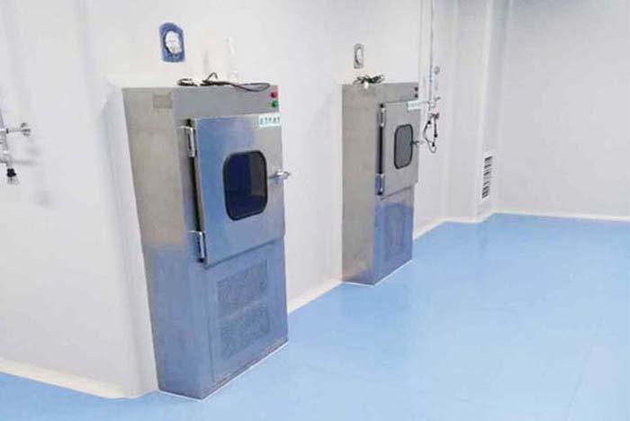 微生物洁净室实验室选择风淋室及传递窗两种净化
